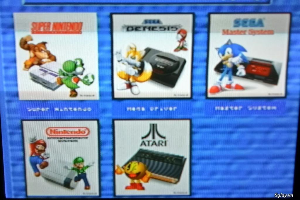 băng máy game 4 nút NES SNES SAGA -wii- PS2 250G  có 2 tay cầm loại 1.wii u hack full 32G - 7