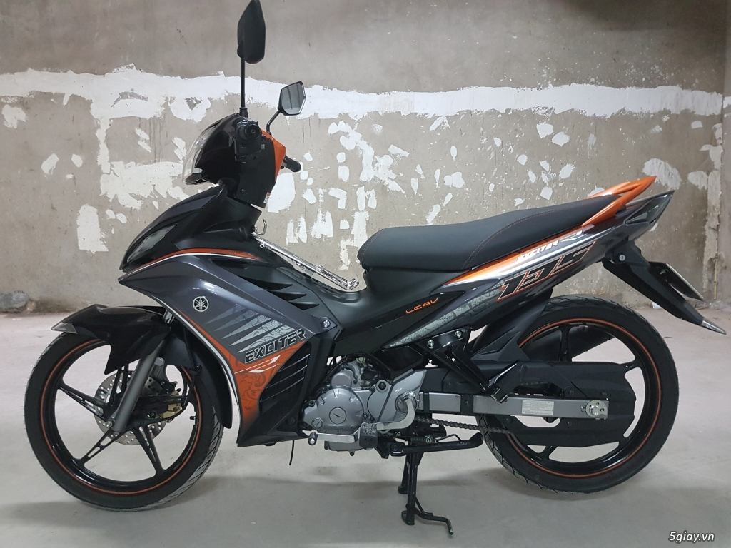 Cần bán Yamaha Exciter 135 R côn tự động ,hàng hiếm mới chạy 150km - 4