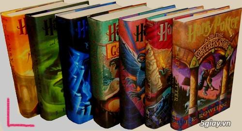 Bộ sách Harry Potter - Boxed Set: Books 1-7 giảm giá sốc trong tháng 8