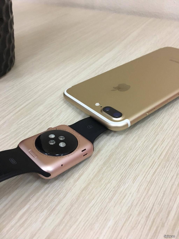 Cần Bán Cặp iPhone 7+ 32GB GOLD & Apple Watch Seri 1 Rose 42mm - 2