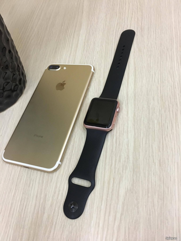 Cần Bán Cặp iPhone 7+ 32GB GOLD & Apple Watch Seri 1 Rose 42mm - 3