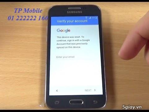 Xoá xác minh tài khoản Google tất cả các dòng Samsung, LG, HTC, Sony