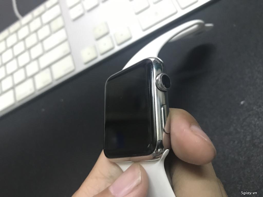 Bán apple watch stainless Steel 42mm gía quá đẹp cho sinh viên