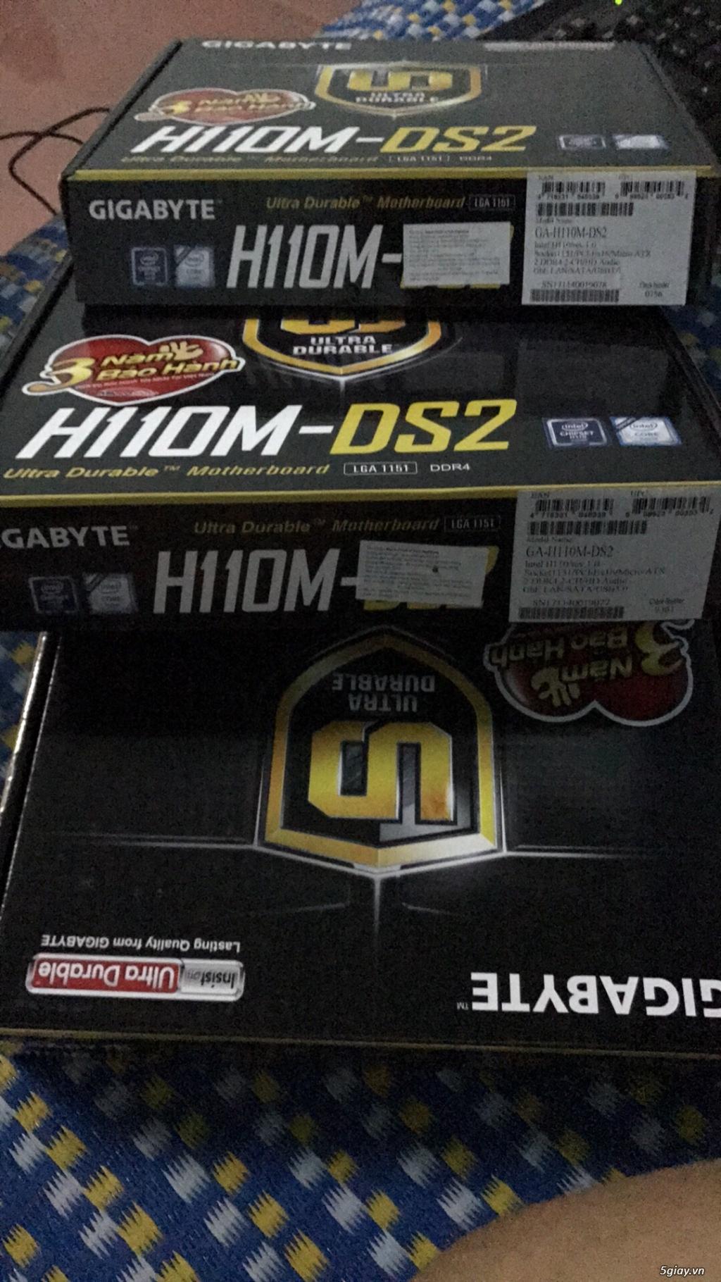 Chip intel i3 6100 3.7 ghz  full hộp + full bảo hành viết sơn =giá mềm - 6