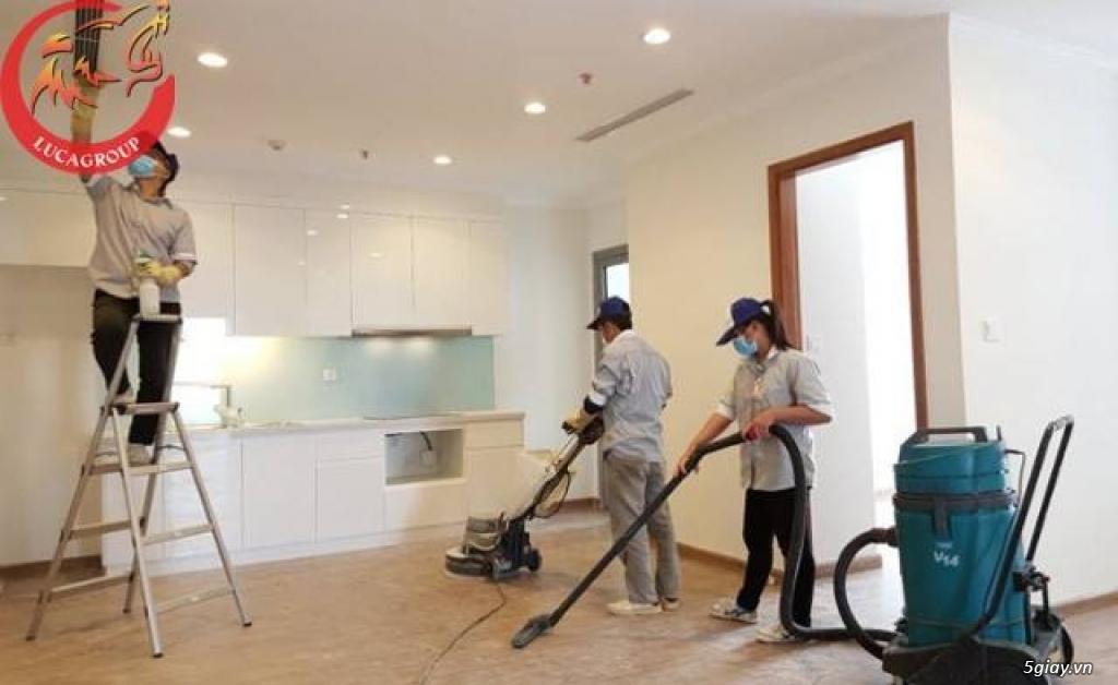 Luca Group dịch vụ vệ sinh căn hộ tại Vinh - 2