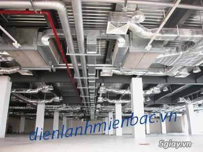 Lắp đặt điều hòa âm trần nối ống gió, phục vụ toàn miền Bắc