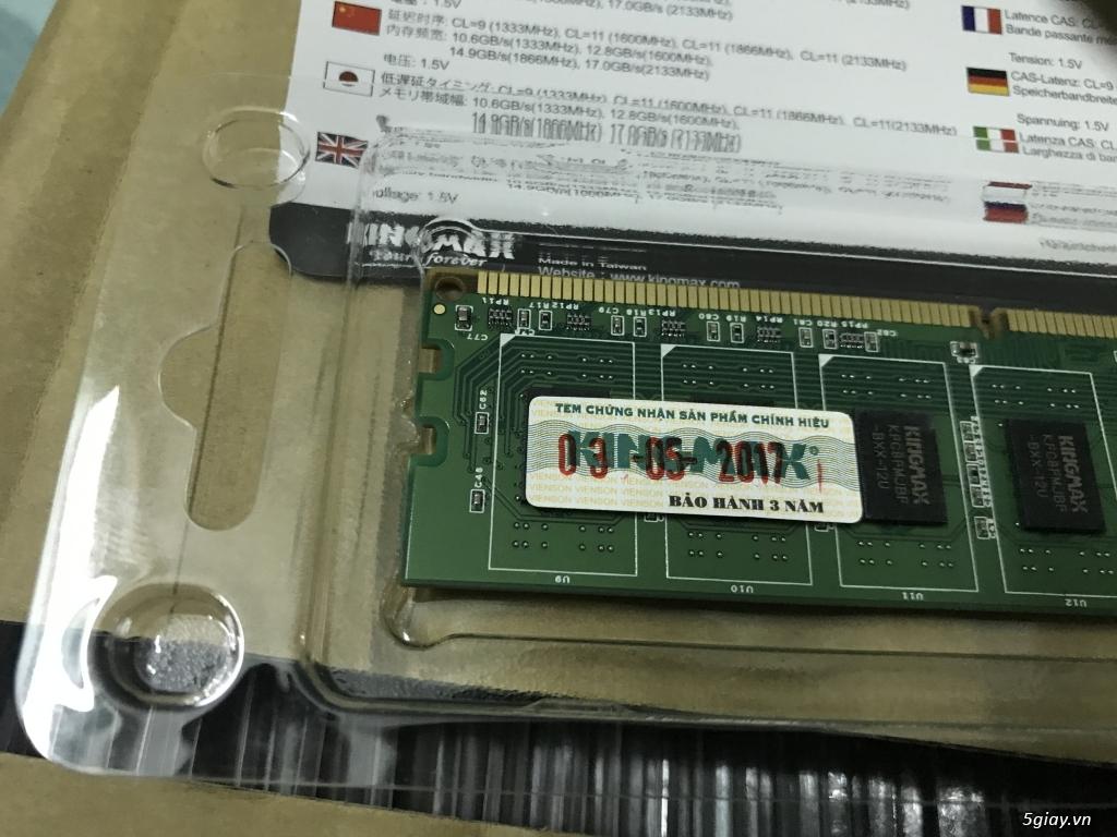 Chip intel i3 6100 3.7 ghz  full hộp + full bảo hành viết sơn =giá mềm - 12