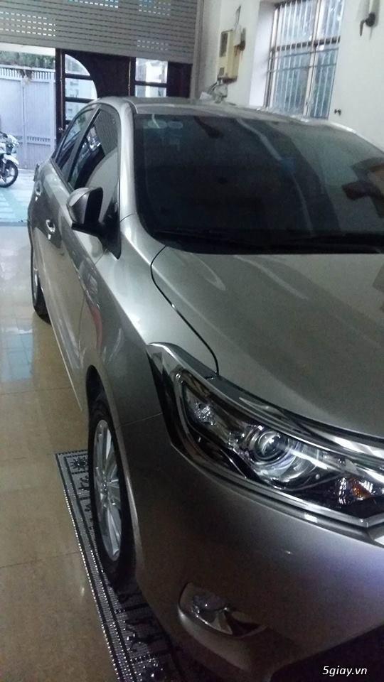 Bán xe Toyota Vios đời 2015 -  tại Q12 - 2