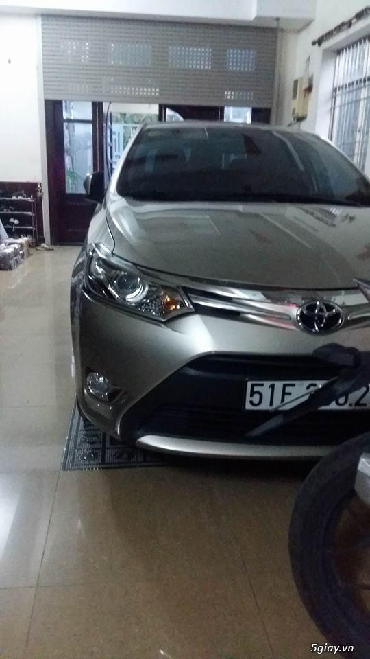 Bán xe Toyota Vios đời 2015 -  tại Q12
