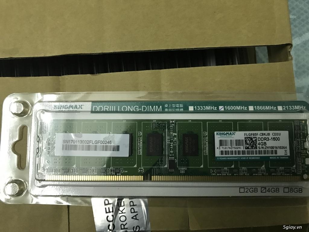 Chip intel i3 6100 3.7 ghz  full hộp + full bảo hành viết sơn =giá mềm - 13