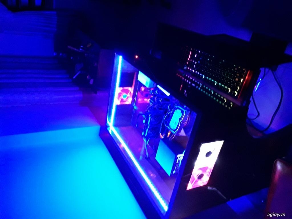 Bán Bàn máy tính chuyên game Profesional X2 Full Led RGP đổi màu - 4