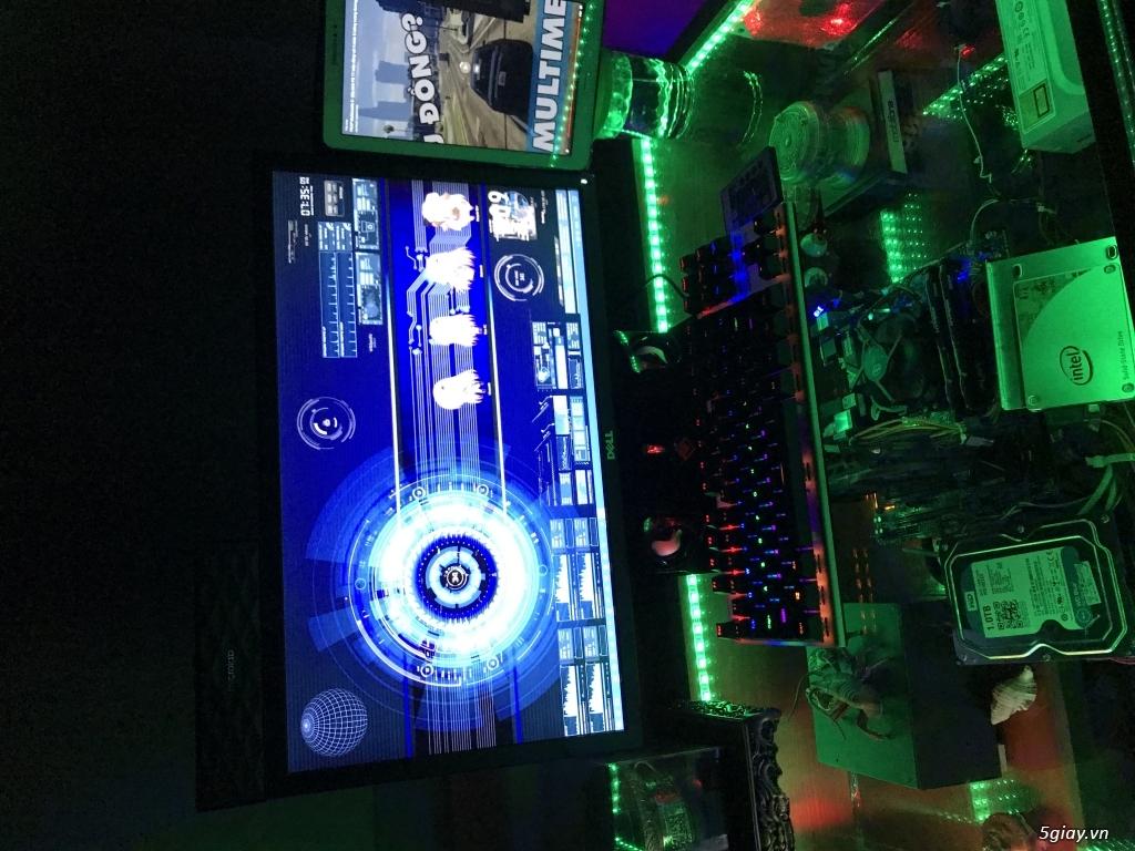 Bán Bàn máy tính chuyên game Profesional X2 Full Led RGP đổi màu - 6