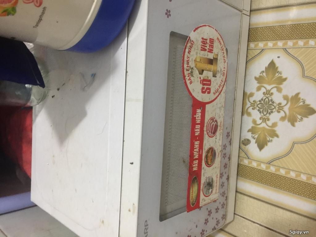 Xác bếp Rinnai và lò vi sóng Sharp - 3
