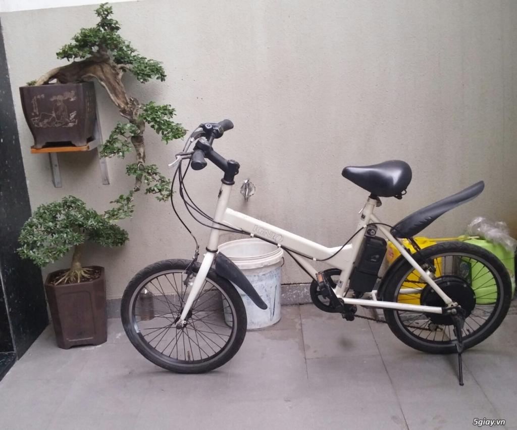 Xe đạp điện japan đủ loại mùa tựu trường.