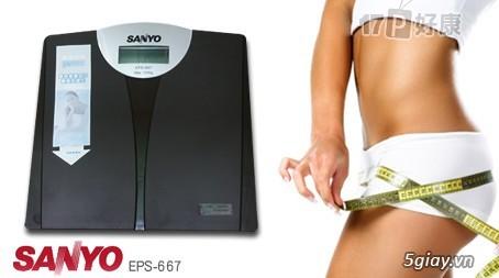 Cân sức khỏe điện tử Sanyo - 1