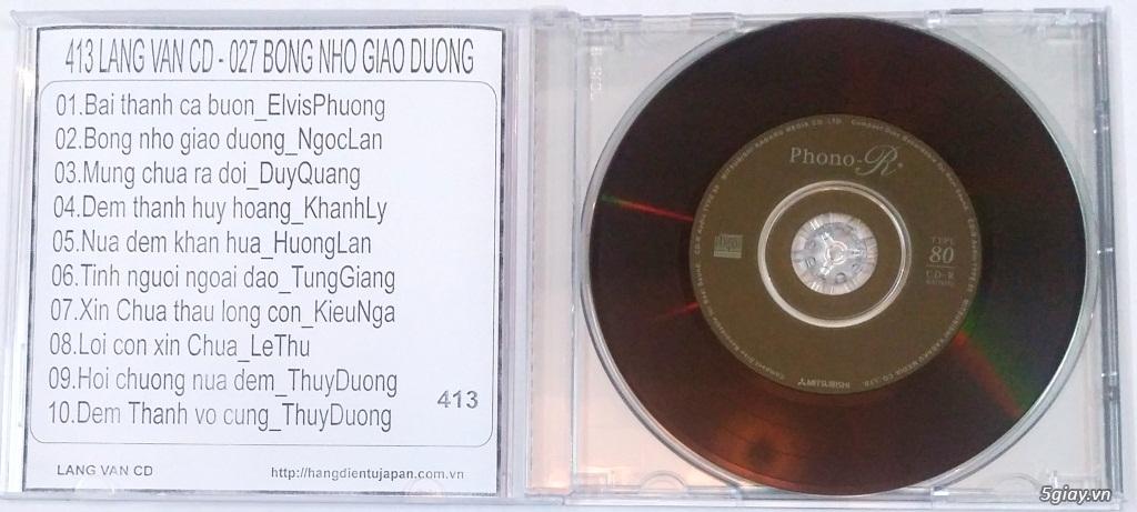 Đĩa Nhạc CD Phono Mitsubishi Chất Lượng Cao - 1