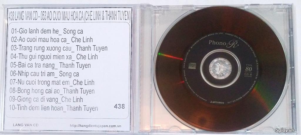Đĩa Nhạc CD Phono Mitsubishi Chất Lượng Cao - 23
