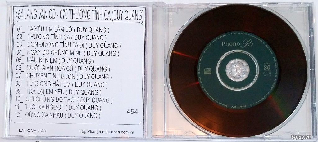 Đĩa Nhạc CD Phono Mitsubishi Chất Lượng Cao - 47