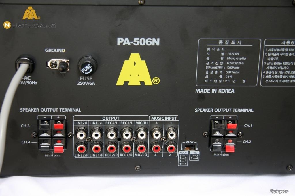 Thanh lý Amply Jarguar PA-506N và mixer California Pro 183 chính hãng. - 2