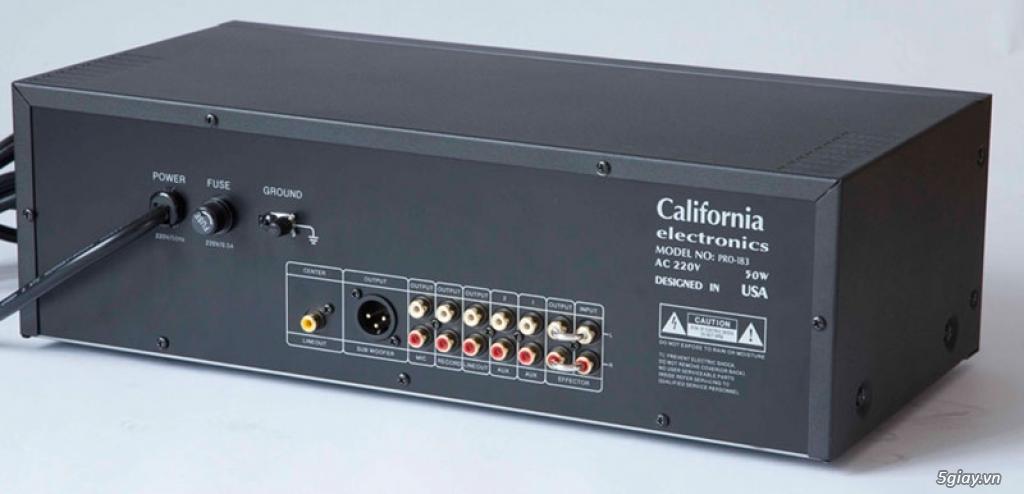 Thanh lý Amply Jarguar PA-506N và mixer California Pro 183 chính hãng. - 6
