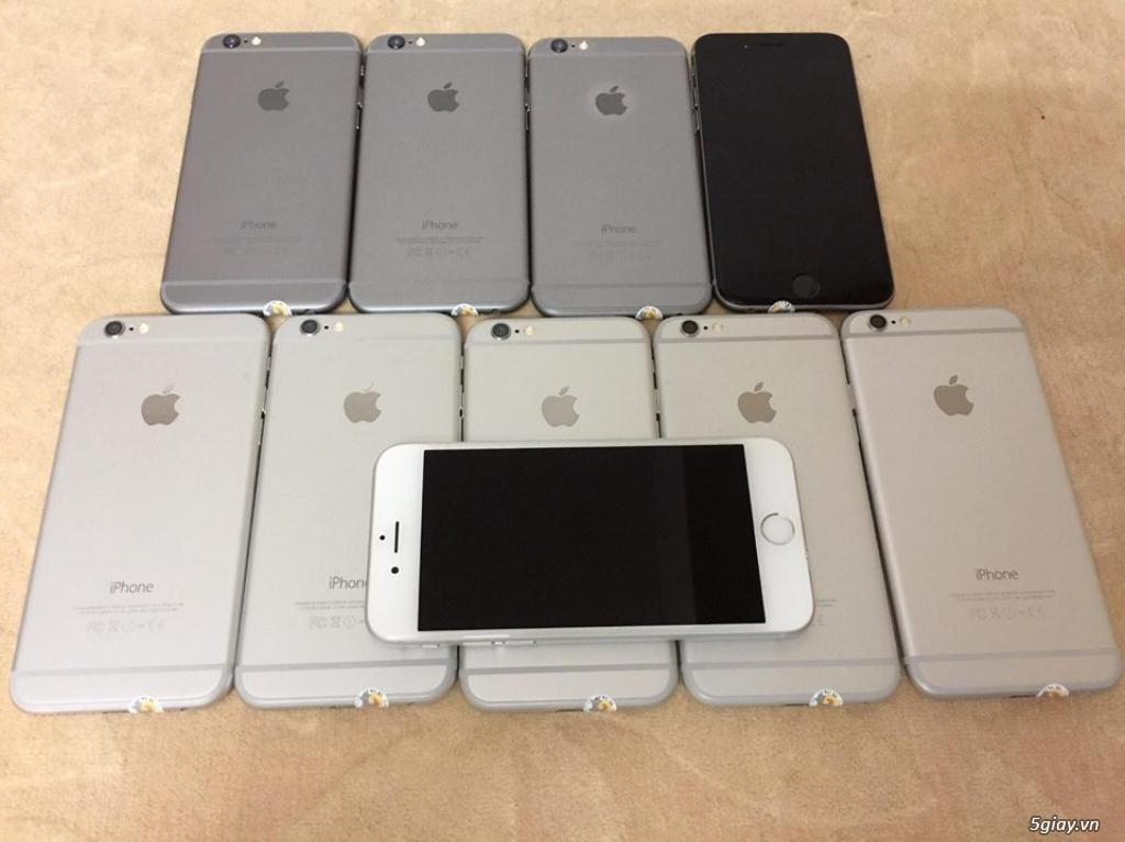 iPhone 6 Plus-Lock-Xám/Trắng.Nguyên zin100%.Fix full lỗi xài như QTế