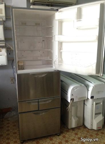 tủ lạnh Hitachi 5 cánh -dung tích 415lit Inverter nội địa Nhật - 1