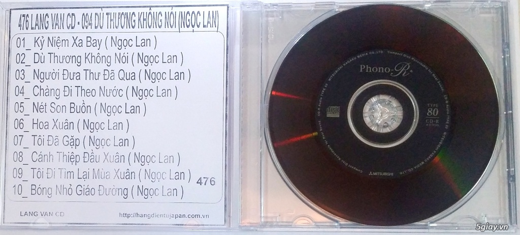 Đĩa Nhạc CD Phono Mitsubishi Chất Lượng Cao - 15