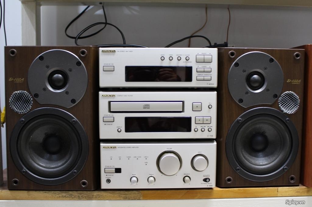 Máy nghe nhạc MINI Nhật đủ các hiệu: Denon, Onkyo, Pioneer, Sony, Sansui, Kenwood - 41