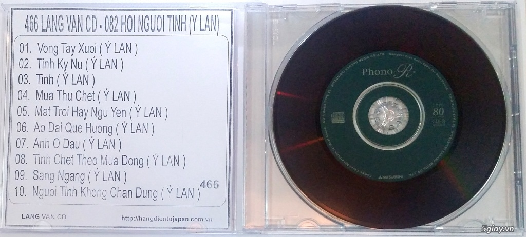Đĩa Nhạc CD Phono Mitsubishi Chất Lượng Cao - 6