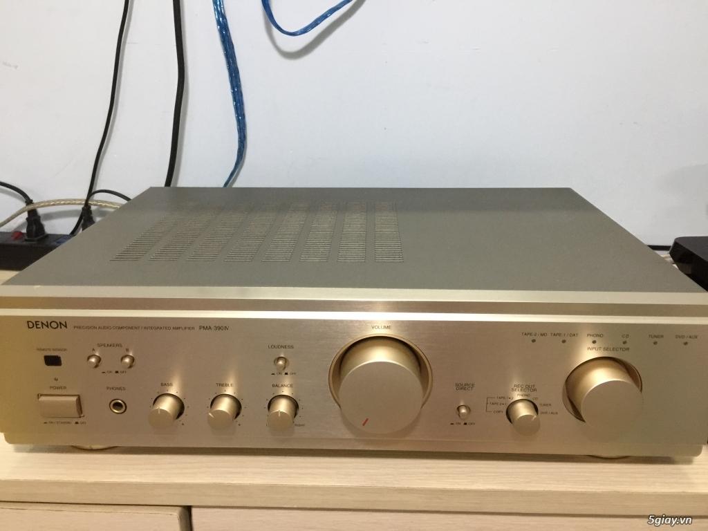 Amply Denon PMA 391 IV – Made in Czech Republic - 1