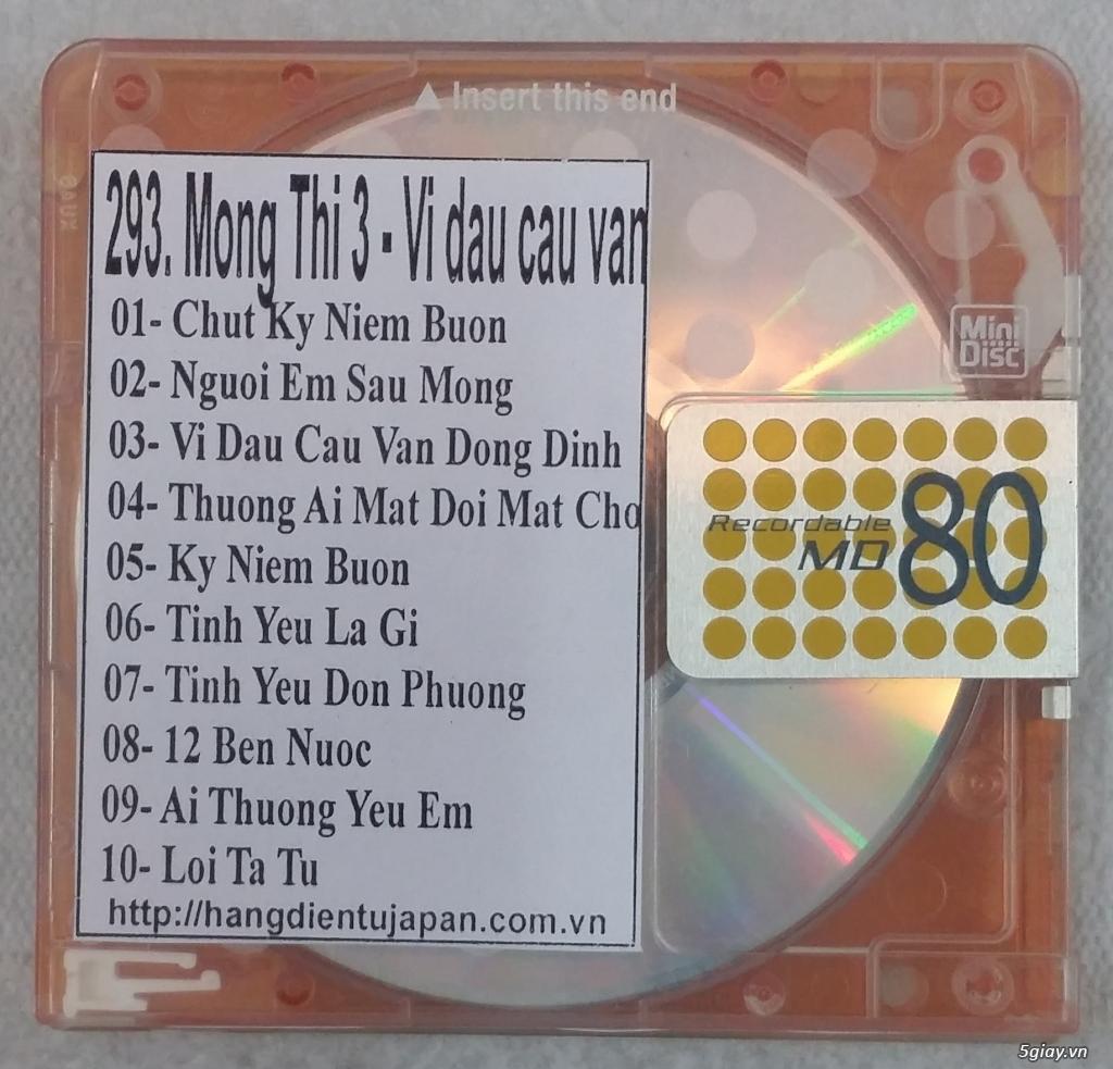 Đĩa nhạc MD - chuyên bán - 12