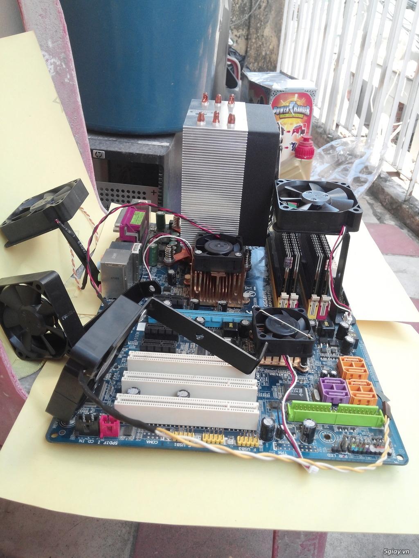 Hub Fan PWM, Backplate AMD 115x,775,1366clip 2011 gông, Ốc Đồ Mod Case - 26