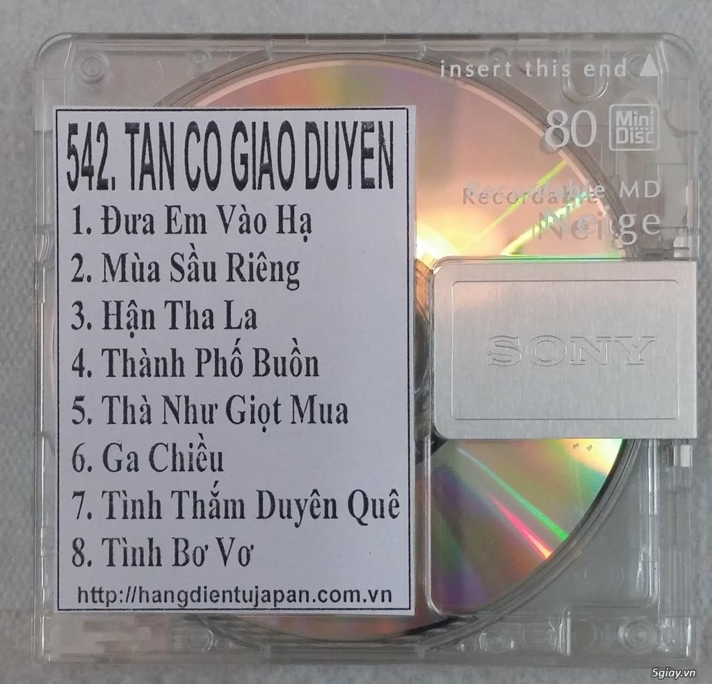 Đĩa nhạc MD - chuyên bán - 21