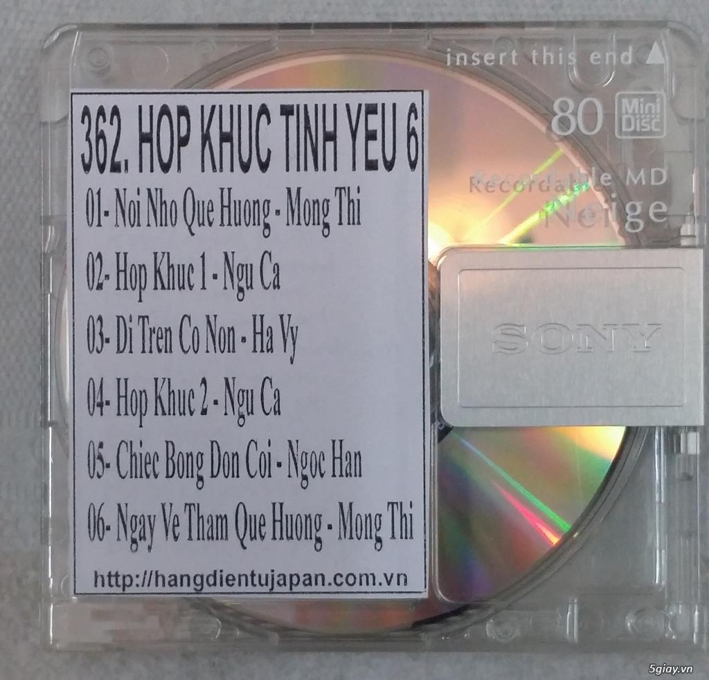 Đĩa nhạc MD - chuyên bán - 18