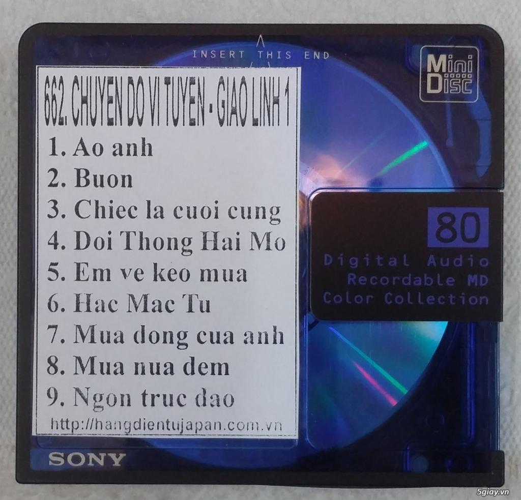 Đĩa nhạc MD - chuyên bán - 20