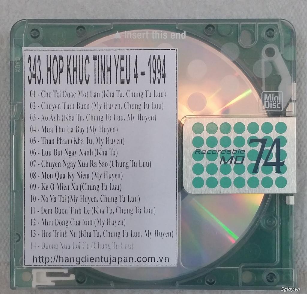 Đĩa nhạc MD - chuyên bán - 14