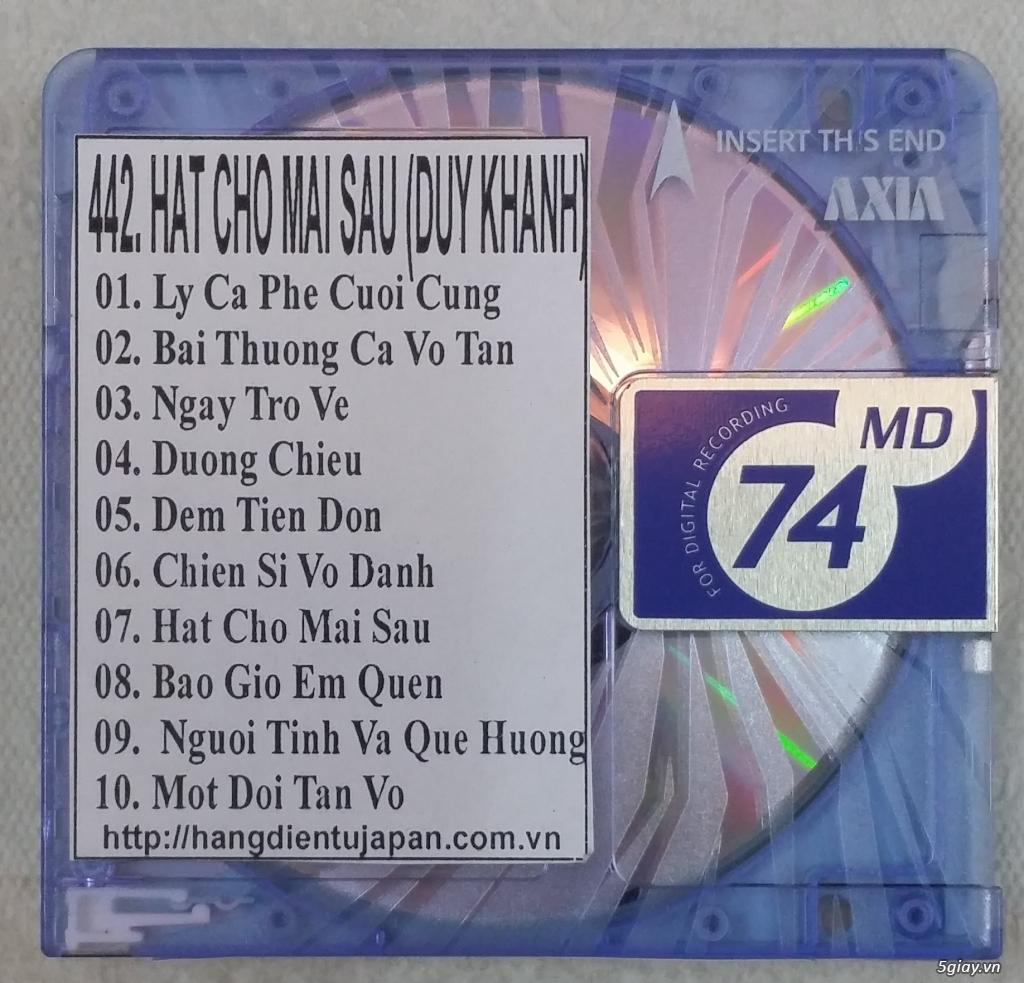 Đĩa nhạc MD - chuyên bán - 16