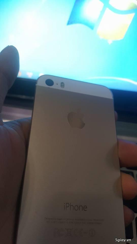 bán nhanh cay iphone 5s 16gb lock - 7