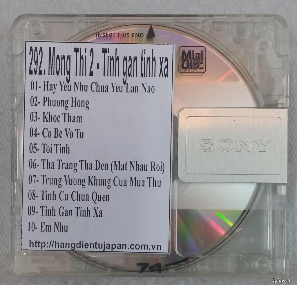 Đĩa nhạc MD - chuyên bán - 10