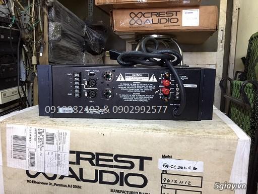 Karaoke chuyên nghiệp main crest audio USA âm thanh đỉnh cao Mỹ, pwer crown bose onseire ....giá tốt - 29