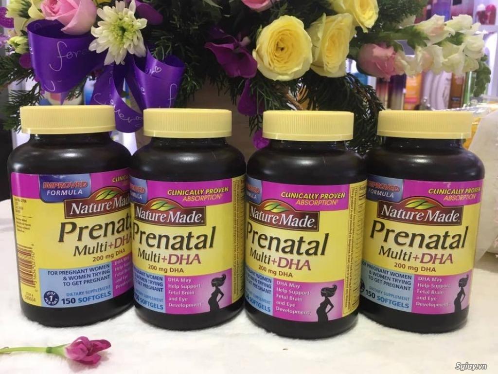 Viên uống Prenatal DHA bổ sung vitamin, DHA cho bà bầu - 3