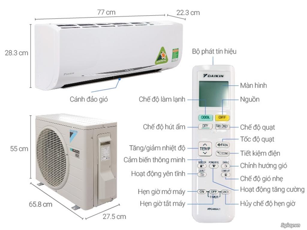 máy lạnh Daikin tiết kiệm điện - 1