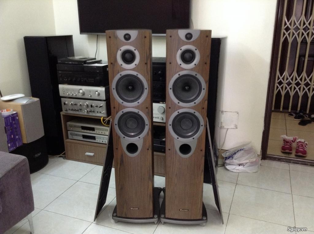 Receiver và ampli (nghe nhạc & xem phim-3D-dtsHD-trueHD-HDMA)loa-center-sub-surround. - 3