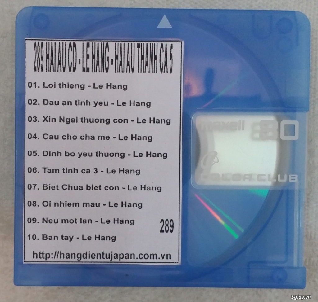 Đĩa nhạc MD - chuyên bán - 31