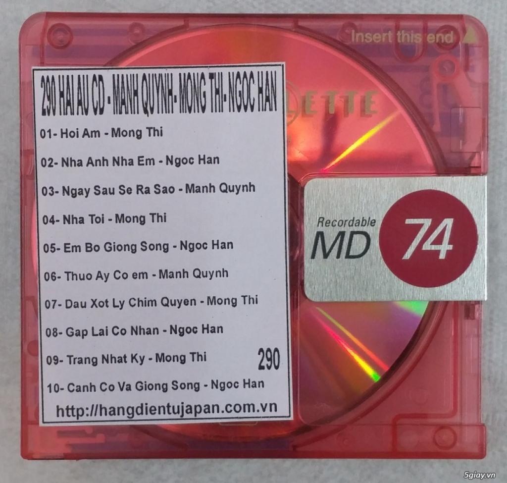 Đĩa nhạc MD - chuyên bán - 33