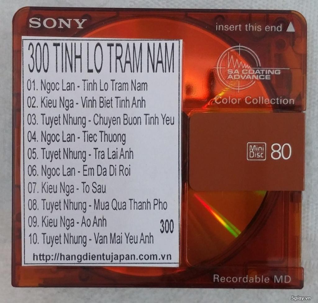 Đĩa nhạc MD - chuyên bán - 40