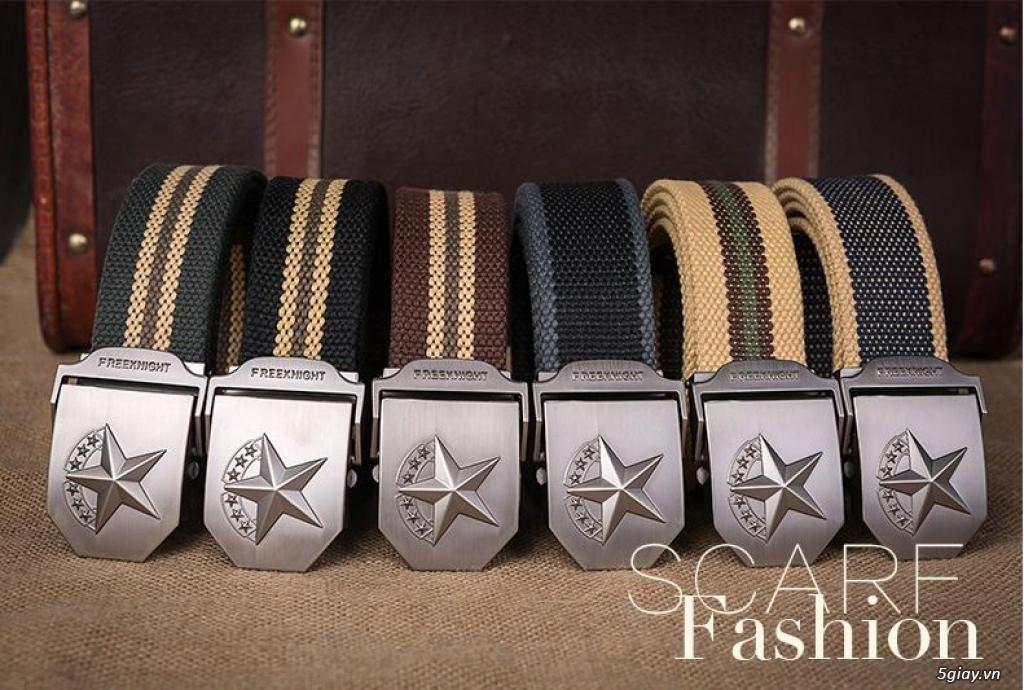 Chuyên bán dây nịt lính Mỹ US, dây nịt vải bố, thắt lưng vải mặt nhựa - 19