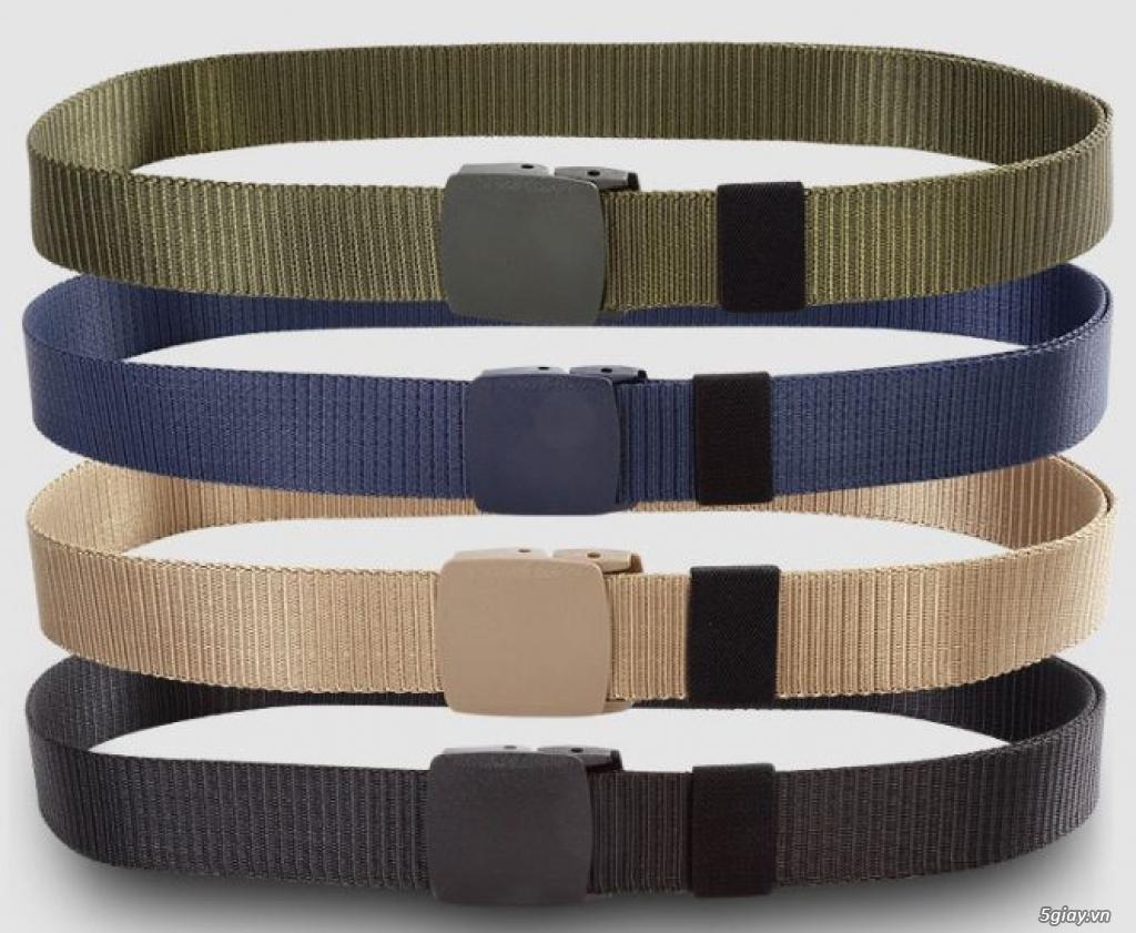Chuyên bán dây nịt lính Mỹ US, dây nịt vải bố, thắt lưng vải mặt nhựa - 13