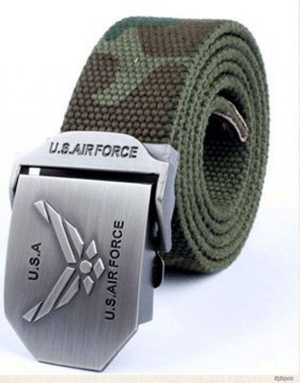 Chuyên bán dây nịt lính Mỹ US, dây nịt vải bố, thắt lưng vải mặt nhựa - 17
