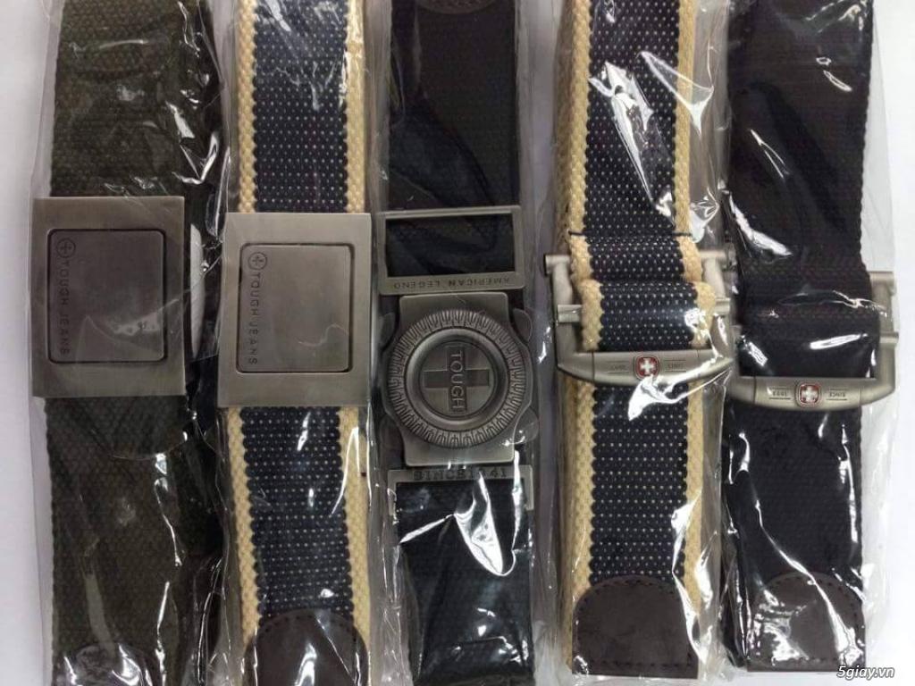 Chuyên bán dây nịt lính Mỹ US, dây nịt vải bố, thắt lưng vải mặt nhựa - 37